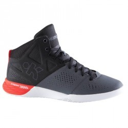 Chaussure basketball adulte Strong 300 II noir gris