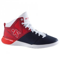 Chaussure basketball adulte Strong 300 II navy rouge