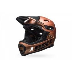 Casque avec Mentonnière Amovible Bell Super DH Mips Cuivre Noir