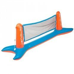 Filet volley aquatique AQUAVOLLEY bleu orange