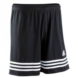 Short football adulte Entrada noir