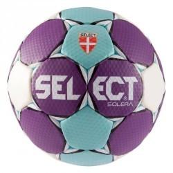 Ballon de handball Solera taille 2 violet bleu clair blanc