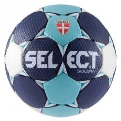 Ballon de handball Solera taille 3 bleu foncé bleu clair blanc