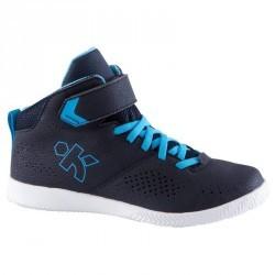 Chaussures de Basketball enfant Strong 100 navy bleu