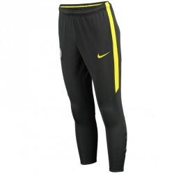 Pantalon entrainement football adulte Manchester City gris jaune