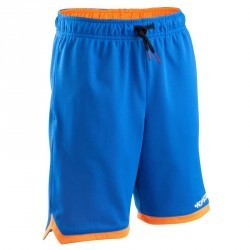 Short basketball enfant Reversible bleu orange