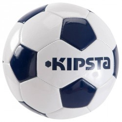 Ballon de football First Kick taille 3 (enfants de 5-7ans) blanc bleu