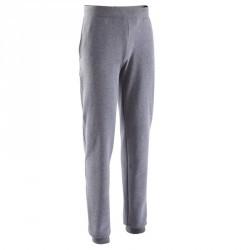Pantalon de basketball B300 femme gris