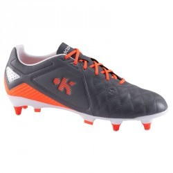 Chaussure football adulte terrain gras Agility 700 Pro SG gris orange