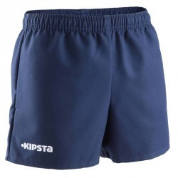 Short rugby enfant Full H 100 bleu