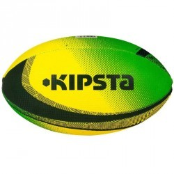 Mini ballon rugby Fun Brésil vert jaune
