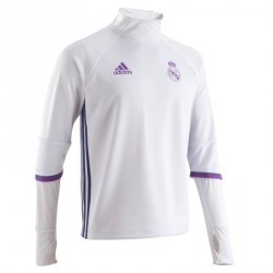 Training Top football adulte real Madrid blanc