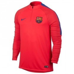 Training Top football adulte FC Barcelone rouge