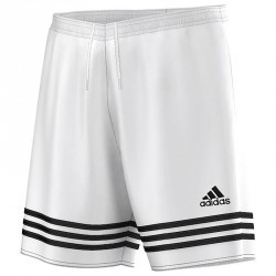 Short football adulte Entrada blanc