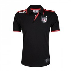 Polo rugby adulte Stade Toulousain blanc