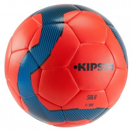 Ballon de Futsal 300 hybride taille 58 cm rouge