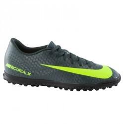 Chaussure football adulte Mercurial CR7 Vortex TF noir