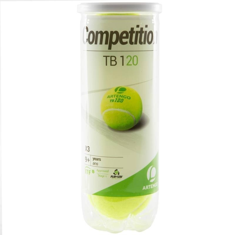avis test balle de tennis pression tb 120 3 competition artengo prix