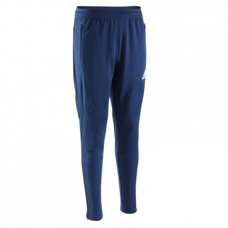 Pantalon entrainement football adulte Tiro bleu marine