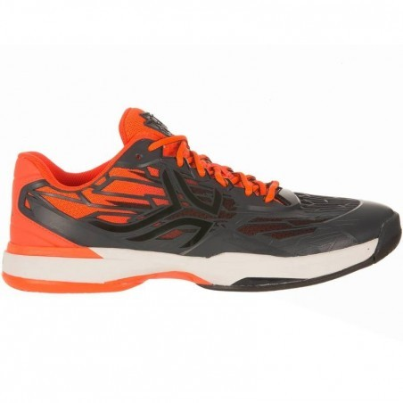 CHAUSSURES DE TENNIS HOMME TS990 BLACK ORANGE