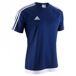 Maillot football adulte Estro 15 bleu marine