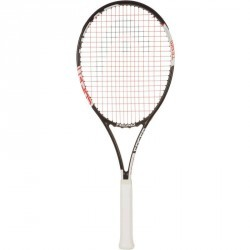 RAQUETTE DE TENNIS ADULTE SPEED TEAM NOIR BLANC