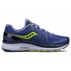 Chaussures de Running Femme Saucony Echelon 6 Bleu / Jaune