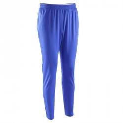 Pantalon entrainement football adulte Academy bleu
