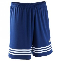 Short football enfant Entrada bleu marine