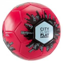 Ballon football City taille 5 rose