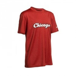 Tee Shirt basketball enfant Fast Chicago rouge