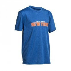 Tee Shirt basketball enfant Fast New York bleu