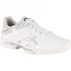 CHAUSSURES DE TENNIS HOMME GEL-SOLUTION SPEED 3 BLANC