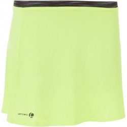 JUPE SOFT JAUNE 500 TENNIS BADMINTON TENNIS DE TABLE PADEL ARTENGO