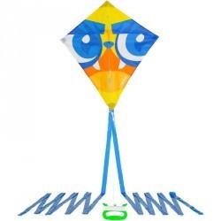 Cerf volant monofil système IZY forme losange ,Imprimé Masque.