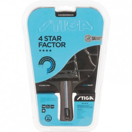 RAQUETTE DE TENNIS DE TABLE STIGA FACTOR 4*