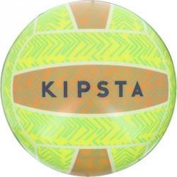 Ballon de beach-volley extérieur BV100 vert jaune