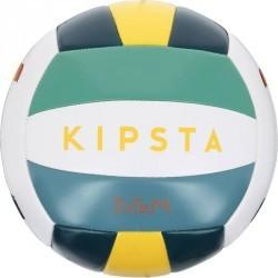 Mini ballon de beach-volley extérieur Rio Totem Amazonia blanc vert