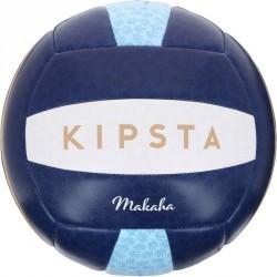 Ballon de beach-volley extérieur  Rio Makaha bleu et ocre