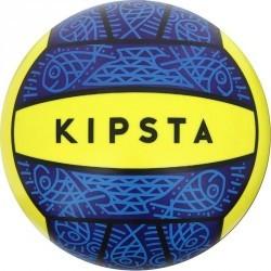 Ballon de beach-volley extérieur BV100 bleu jaune