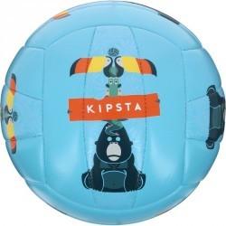 Mini ballon de beach-volley extérieur Rio Amazonia bleu clair