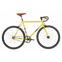 Vélo Fixie Look AC 364 Jaune 2017