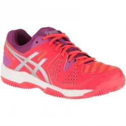 CHAUSSURES DE PADEL FEMME GEL-PADEL PRO 3 SG DIVA ROSE ORANGE