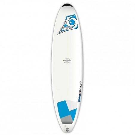 Planche de surf BIC 7'3 avec pad pied arrière.