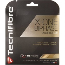 CORDAGE DE TENNIS X ONE BIPHASE 1.3 NATUREL