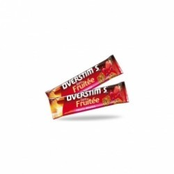 BARRE FRUITEE OVERSTIM´S - fruit rouge