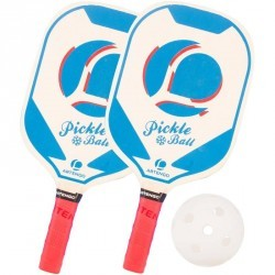 SET PICKLEBALL bleu
