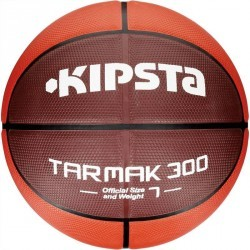 Ballon de Basketball adulte Tarmak 300 taille 7 rouge