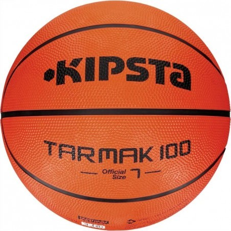 Ballon basketball adulte Tarmak 100 taille 7 orange