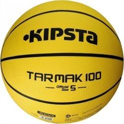 Ballon Basketball enfant Tarmak 100 taille 5 jaune